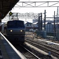 EF66-132号機@吹上駅