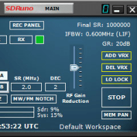 SDRPlay RSP2 導入記(6) 仮設置と動作テスト