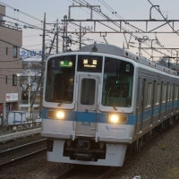 2017年1月20日 小田急  柿生  1055F