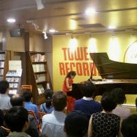 10/15 タワーレコード渋谷店ミニライブ&サイン会① Minilive and Autograph session at Tower record①