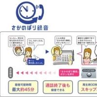 Fax電話の新機能紹介