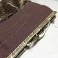 プチプチ手縫い