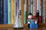 ダイソーで買ったクリスマスバージョンの 「 癒しの灯りとスノーマン 」
