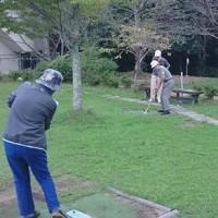 グランドゴルフ (9月27日の写真)