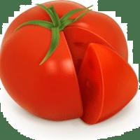 暮れに トマト送ったら!