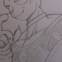 【イラスト】ドラゴンボールZ 神対神