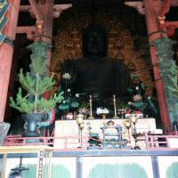 奈良の大仏にも行きました。