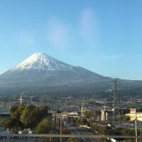 新幹線から見る富士さん!