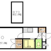 福岡市西区石丸 ■リーズナブルリノベーション賃貸 ■ロフト付き ■アルティ新室見 305