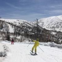 最後のスキー