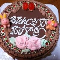 4月合同誕生日ケーキだァ!!