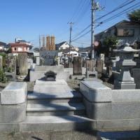 入間のおじさんのお墓にお参りを致しました。