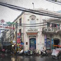 2017.01.10 ベトナム 旧市街: 雨の中のChoung Vang 劇場