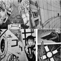 漫画「ブラム!」生電社武装警備員VSキリイ