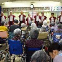 ▣足立区 内福祉施設、慰問活動。U 六月福祉施設。東京足立相撲甚句会。林太一