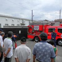 地域の防災訓練に参加しました!