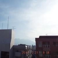 2017年02月21日(火曜日) 晴れ。 風は冷たいが、陽射しは暖かい。。