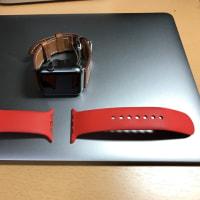 Apple Watchのバンドを交換して、ぐっと大人風に