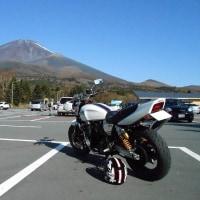 1号機で富士山スカイラインを走ってきた。