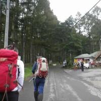 10/9~10 八ケ岳山系(赤岳2988m)