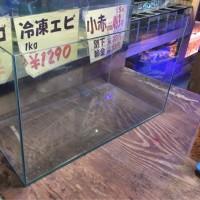 中古 エーハイム 600×300×360オールガラス水槽