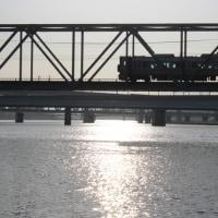 太田川放水路を渡る橋