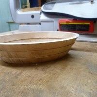 糸鋸(scroll saw)で作るボール(bowl)