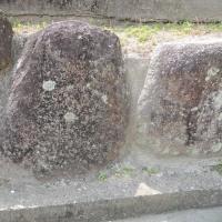 外宮社地御前社の御旅所礎石?