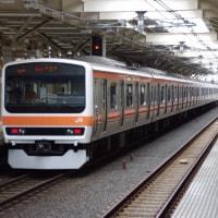 209系500番台M73編成むさしの号八王子行@国立駅