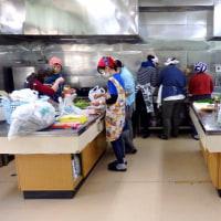 薬草研究会の野草料理2017