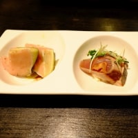 美味しい日本酒と料理をいただきました
