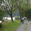 大溝城跡と乙女ヶ池、太鼓橋を巡る