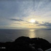 江の島の夕景