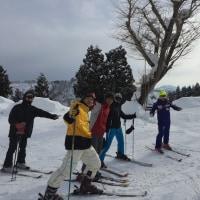 早朝ファットバイク練 15km からの〜 3年ぶりのスキー練 2時間。