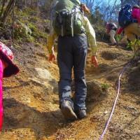 12 高見山・船倉山(559・546m:廿日市市)登山  急坂に挑戦