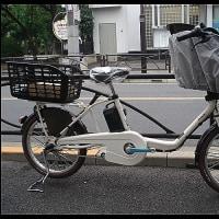 ★パナソニック電動アシスト自転車・ギュットミニDX・白・子供乗せお買い上げ頂きました