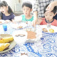 先日のデザートパーティー