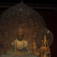 法隆寺 再現 釈迦三尊像展 -飛鳥が告げる未来-