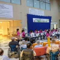 島根大学病院でコンサート
