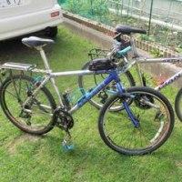 白老 ポロトの森キャンプ場へ自転車でキャンプをしに行く