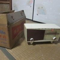 真空管ラジオ発見!
