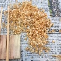 箸づくり教室インストラクター「木のぬくもり展」