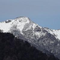 厳冬の二ノ森