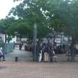 鶴巻温泉駅前の賑わい