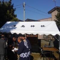 平成29年津島神社・竈神社荒神祭。