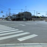 小美玉市野田のエコス前空港通り角の広い売地