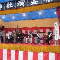 敬老の日の若者への演奏会