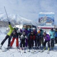 広島グループとのスキー2)