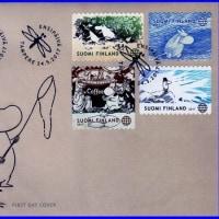 ムーミン切手ーフィンランドから久しぶりに発行されましたー