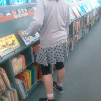 図書館&カラオケ